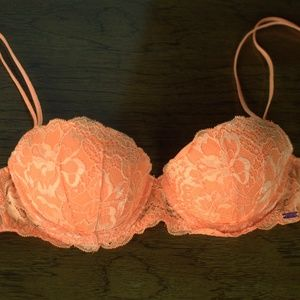 NWOT Victoria's Secret Pink Date Push Up Bra